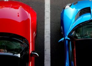 Cars making use of Parking Systems