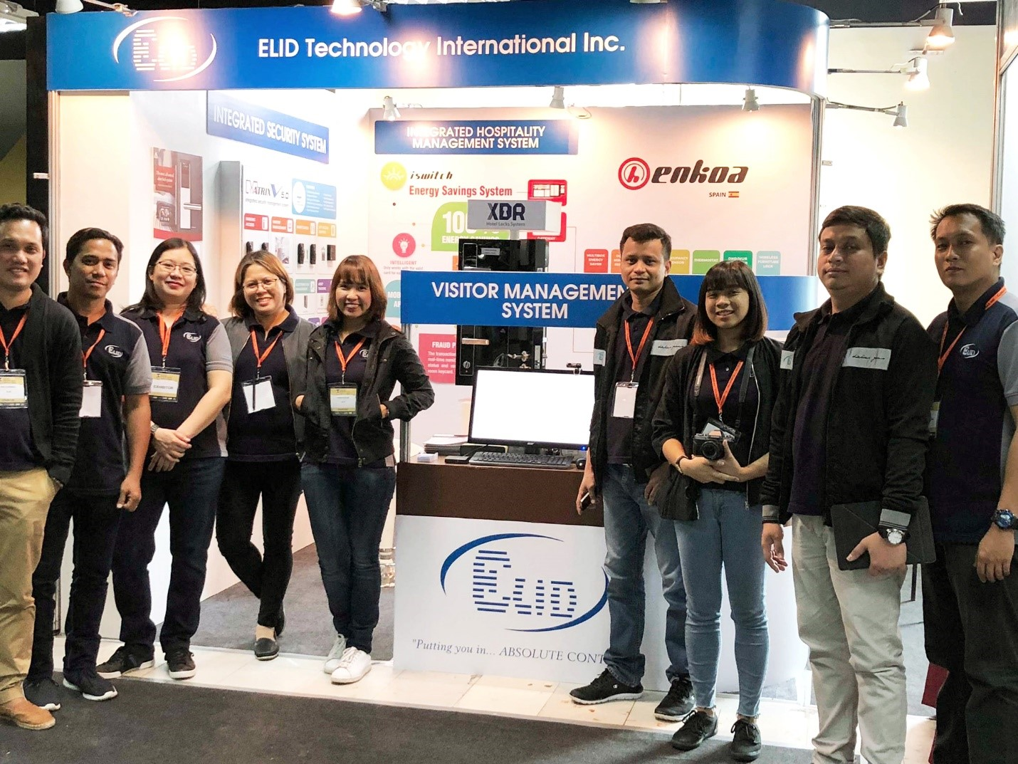 The People Behind ELID's Impactful Booth